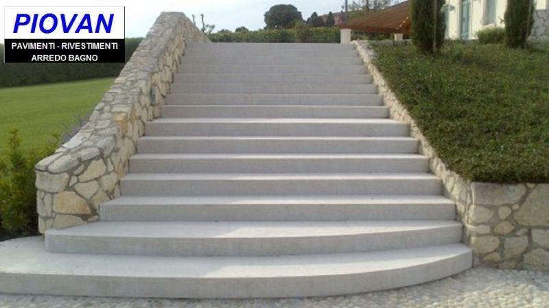 Offerta progettazione scale esterne - Promozione vendita materiali edili pavimentazione esterna