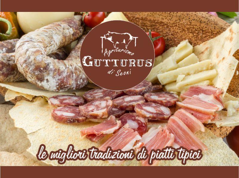 promozione antipasto sardo - offerta salumi e formaggi sardi - Agriturismo Gutturus muravera