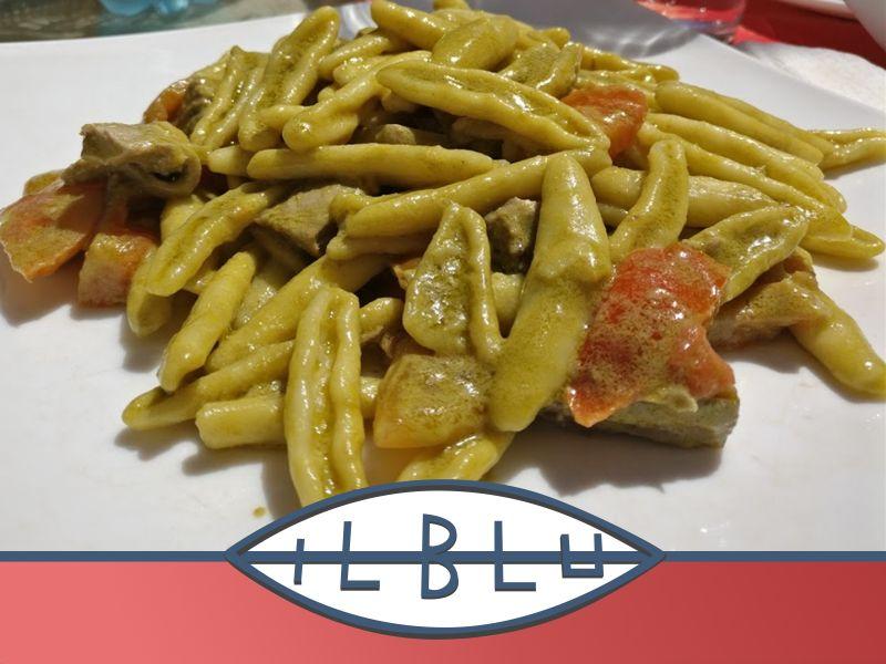 offerta pasta al pistacchio - promozione pistacchio siciliano - ristorante il blu
