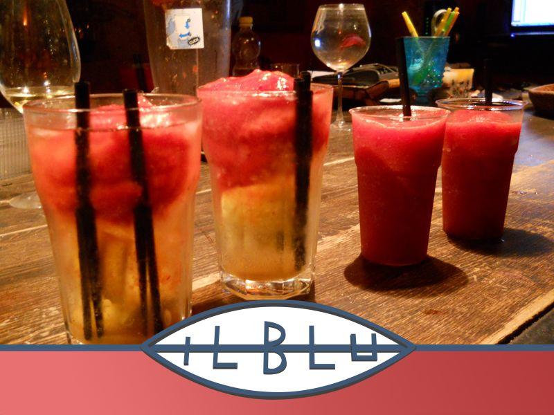 offerta cocktail di frutta - promozione aperitivo lungomare siracusa - ristorante il blu