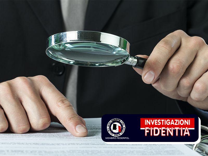 Offerta Servizi Investigazione Privati - Promozione Investigazione Aziende - Istituto Fidentia