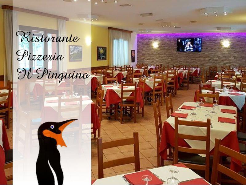 offerta ristorante menu porlezza-promozione pizzeria como-il pinguino ristorante