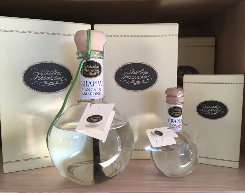 Offerta distillati Amarone bianca Verona - Promozione  grappa distilleria artigianale