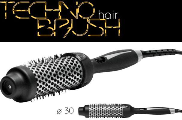 Spazzola modellante Techno Bush