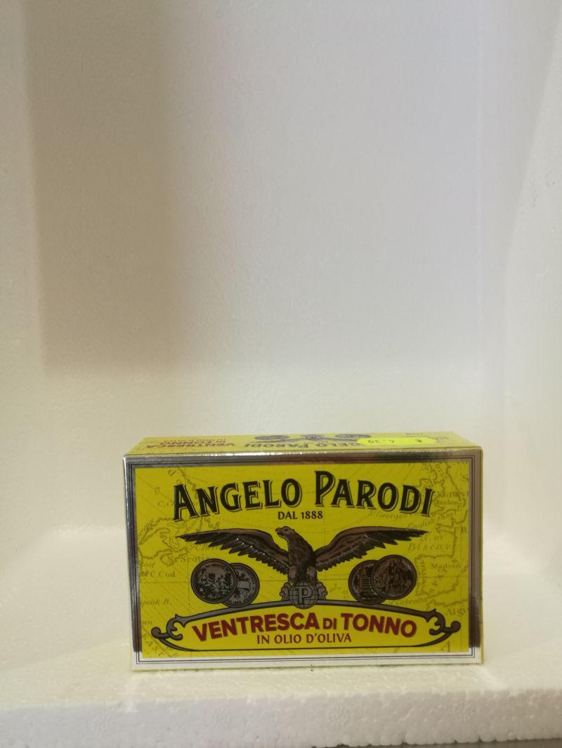 Da Affetto per te trovi la Ventresca di tonno Angelo Parodi.Buonissima!