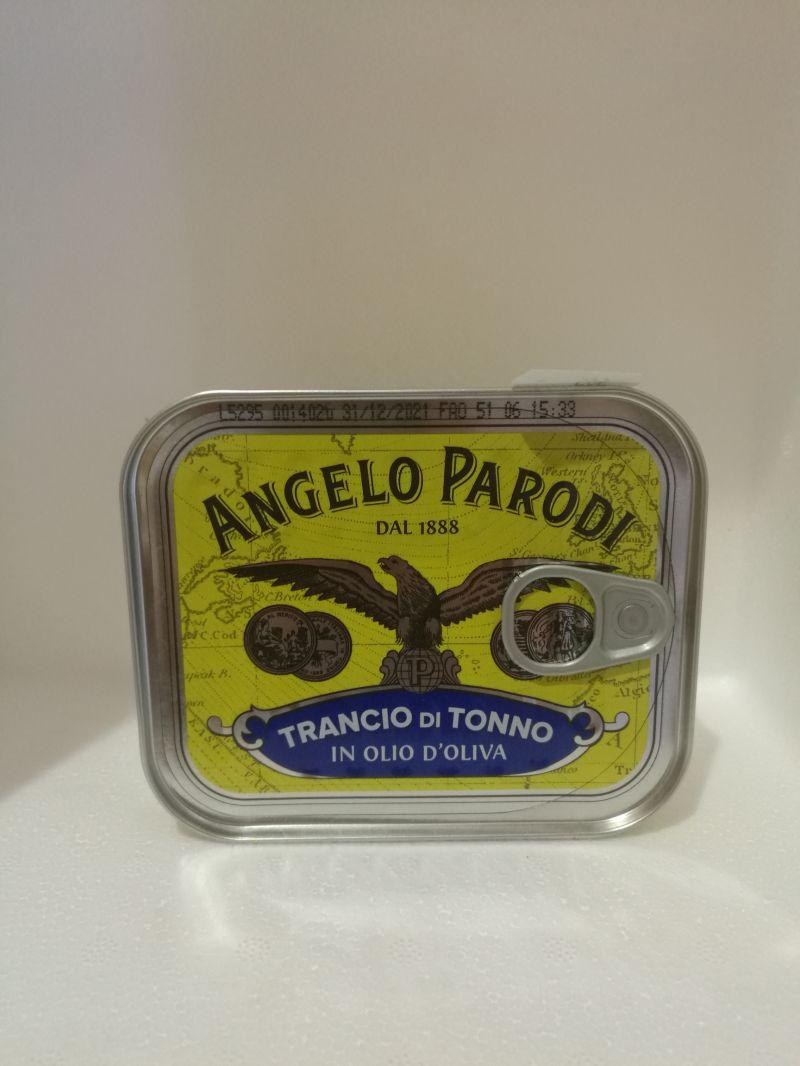 Affetto per Te trovi il.Trancio di tonno in olio di oliva di Angelo Parodi.