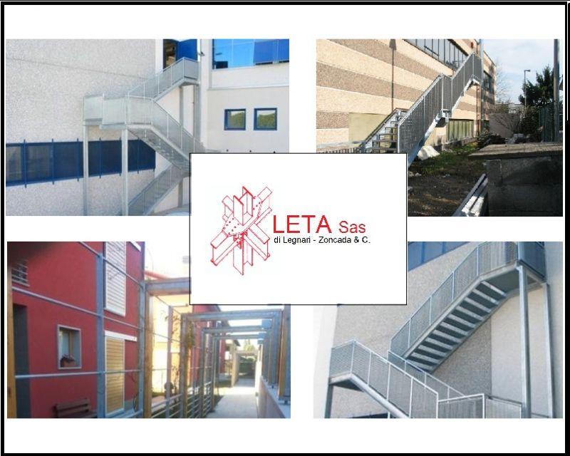 Angebot Treppenbau fuer Notausgaenge - Promotion der Verlegung von Metall - Treppen