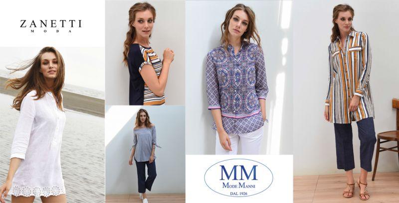 offerta camicia estiva cotone - collezione estiva zanetti donna