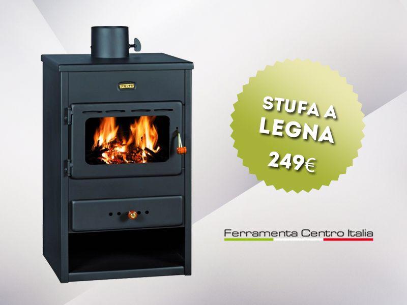 offerta stufa a legna con forno - occasione vendita stufa... - SiHappy