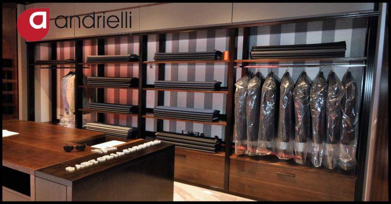 ANDRIELLI GIORGIO & C. Offerta progettazione realizzazione mobili artigianali su misura negozi