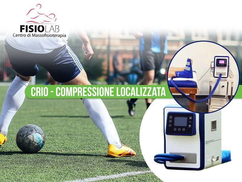 Offerta Crio Compressione Localizzata - Promozione Terapie Post Traumatiche - Fisiolab