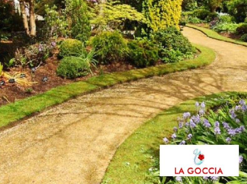 Offerta manutenzione aree verdi - Promozione irrigazione aree verdi - La Goccia