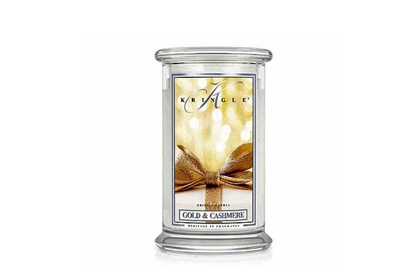 Offerta- CANDELA GOLD & CASHMERE IN GIARA GRANDE