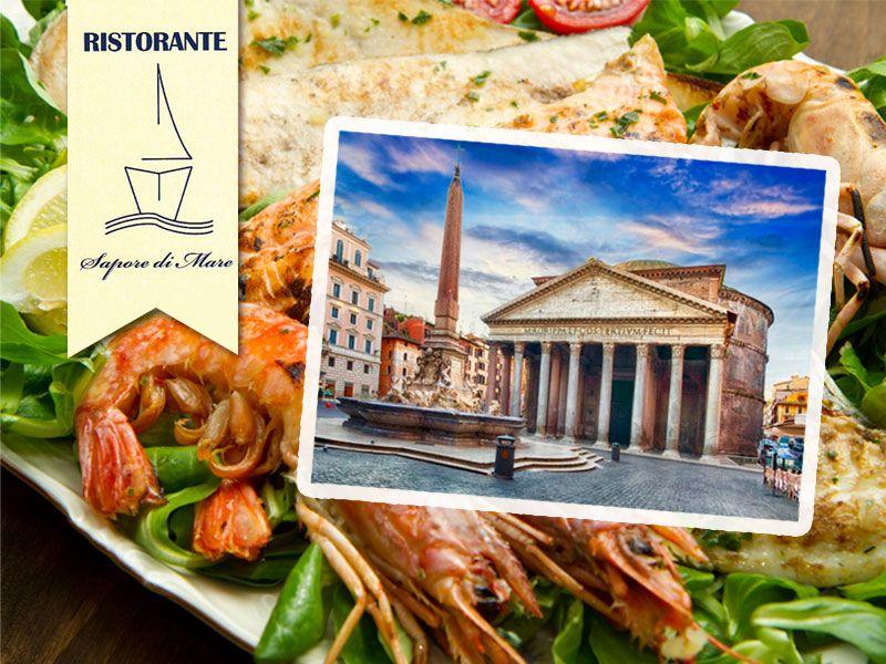 offerta ristorante mare roma centro - promozione ristorante pesce pantheon - sapore di mare