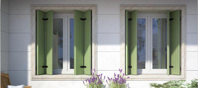 Offerta realizzazione montaggio balconi alla Vicentina - occasione tapparelle in PVC Alluminio