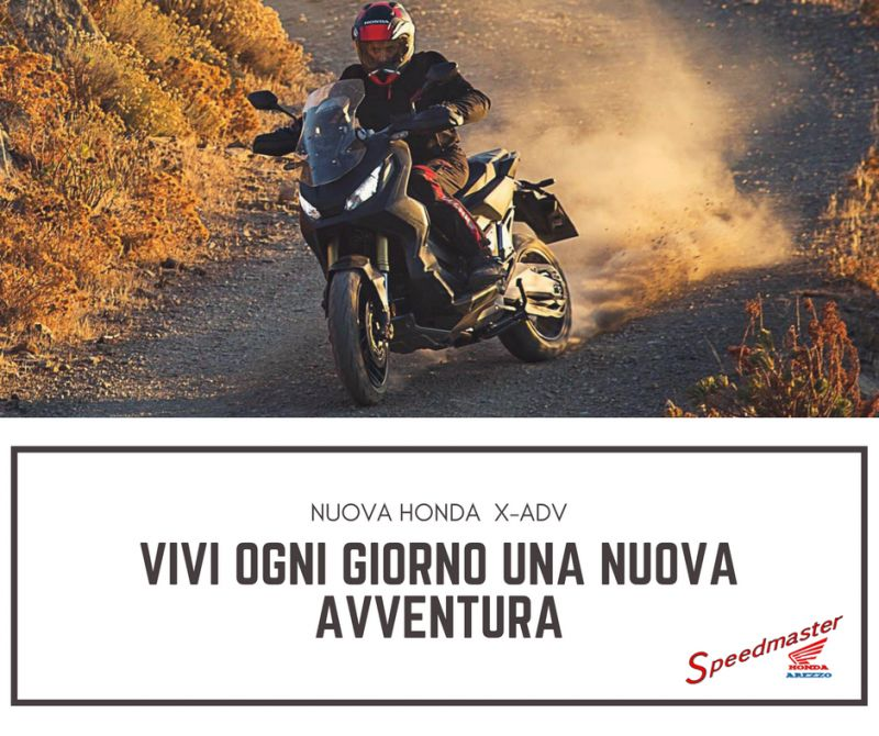 Speedmaster - Honda Arezzo - concessionario moto arezzo