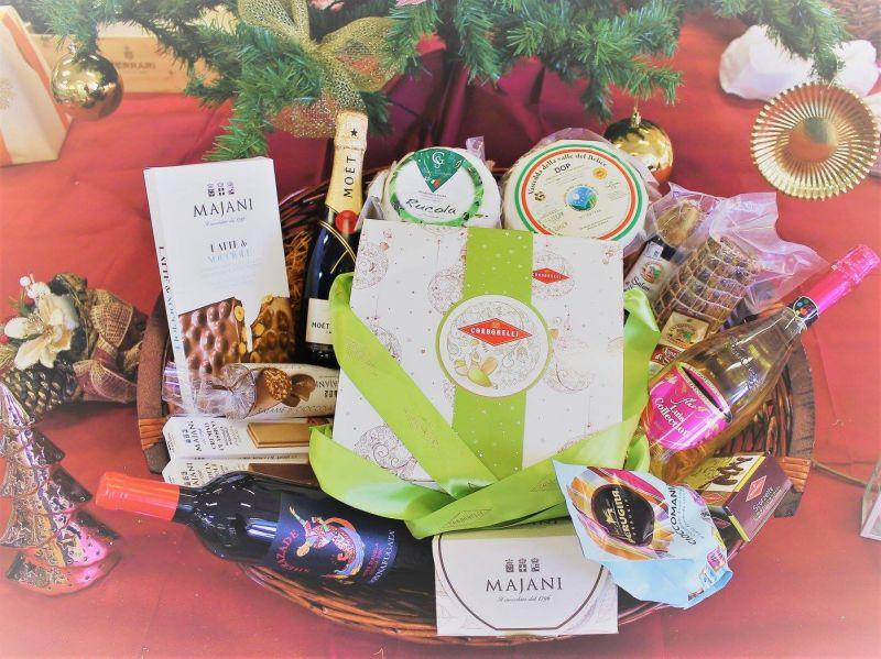 offerta cesta natalizia regalo - promozione cesta reaglo prodotti natalizi - loran cash carry