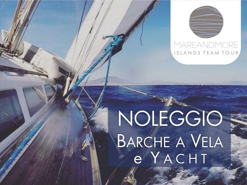 Offerta Noleggi Lusso Isole Egadi Trapani - Promozione escursioni barca vela Favignana Levanzo