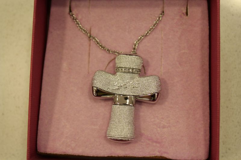 Offerta - Byblos collana croce argento