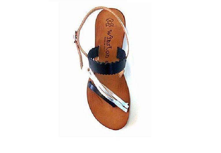 Occasione Sandali Artigianali da donna Italiani Winston shoes