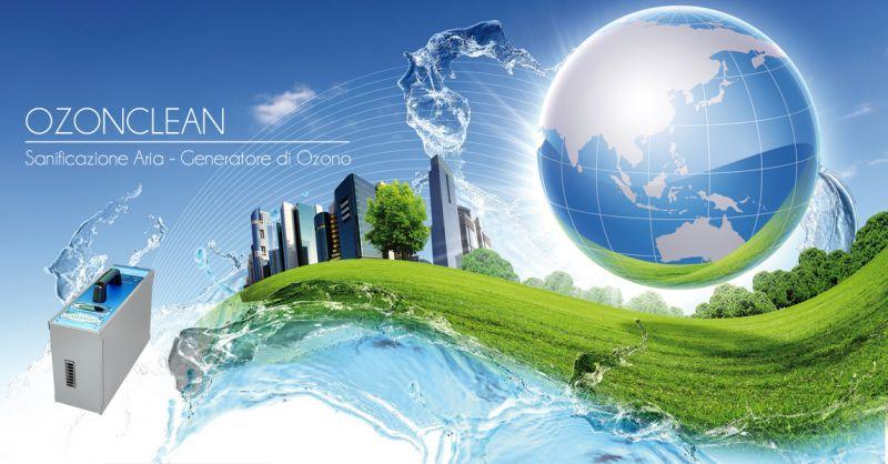 Offerta servizio vendita macchine professionali Ozonclean sanificazione per ambienti a Torino