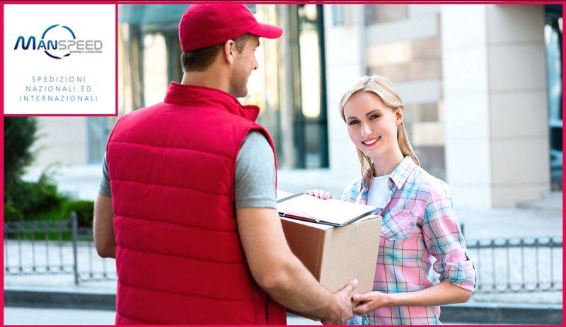 MANSPEED Offerta spedizioni pacchi servizio e-commerce - Promozione spedizioni on line