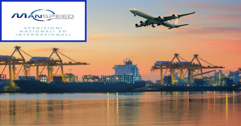 occasione Manspeed trasporto cargo aereo spedizioni navali - offerta trasporto merci verona