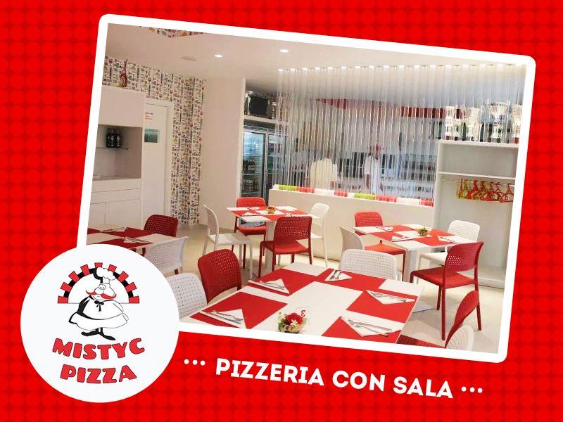 offerta banchetti e ricevimenti pizzeria - promozione sala per feste pizzeria - mystic pizza