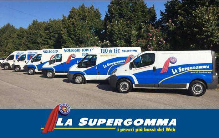 offerta noleggio furgoni low cost - servizio noleggio furgoni la supergomma