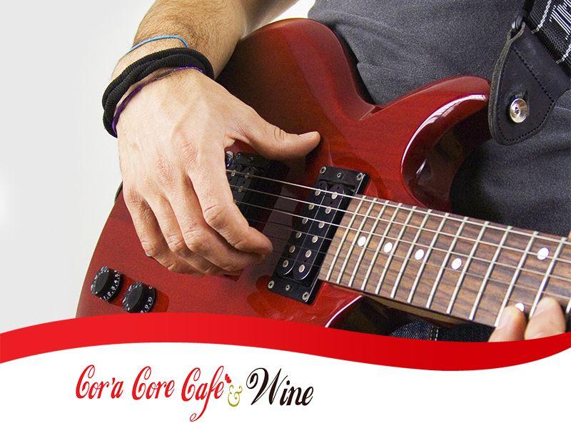 Offerta Locale con Musica Live - Promozione Serate con Musica dal Vivo - Cor'a Core Cafe'