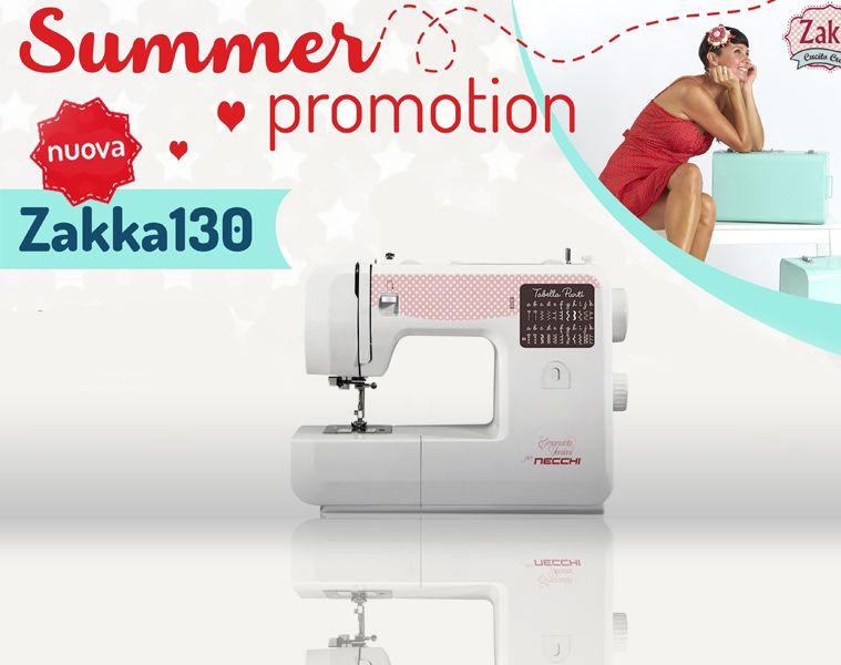 Si!Happy - Offerta macchina per cucire Zakka 130 - Promozione Zakka 130 Necchi- Cucitomania