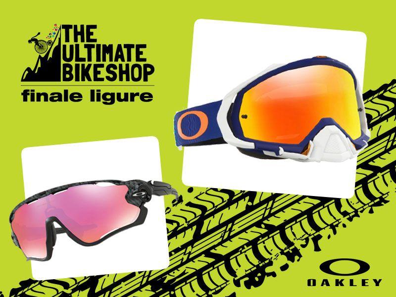 offerta occhiali oakley finale ligure - occasione mascherine oakley finale ligure - bikeshop