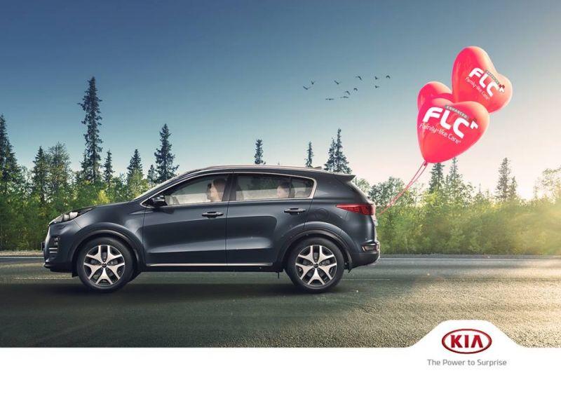 Kia Sportage - accessori in promozione  - sconto fino al 30%