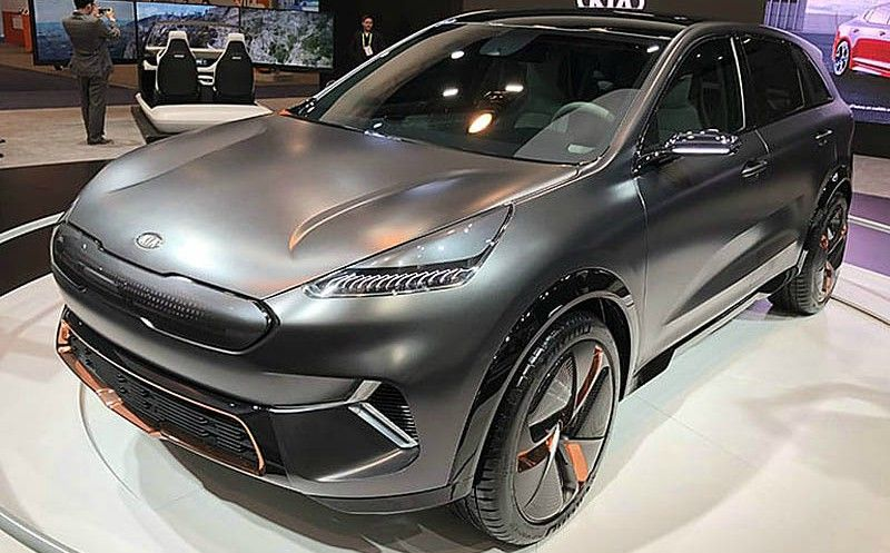 auto elettrica - kia niro all electric