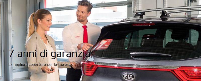 7 anni di garanzia KIA La migliore copertura per la tua auto solo da Casalcar srl