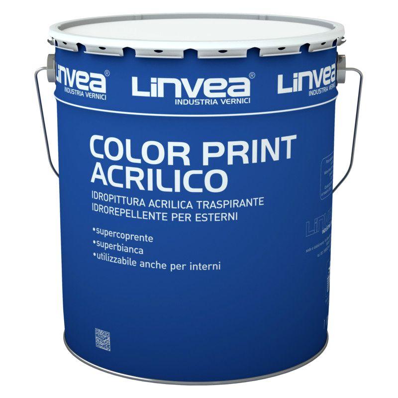 Offerta - Idropittura Acrilica Color Print Acrilico
