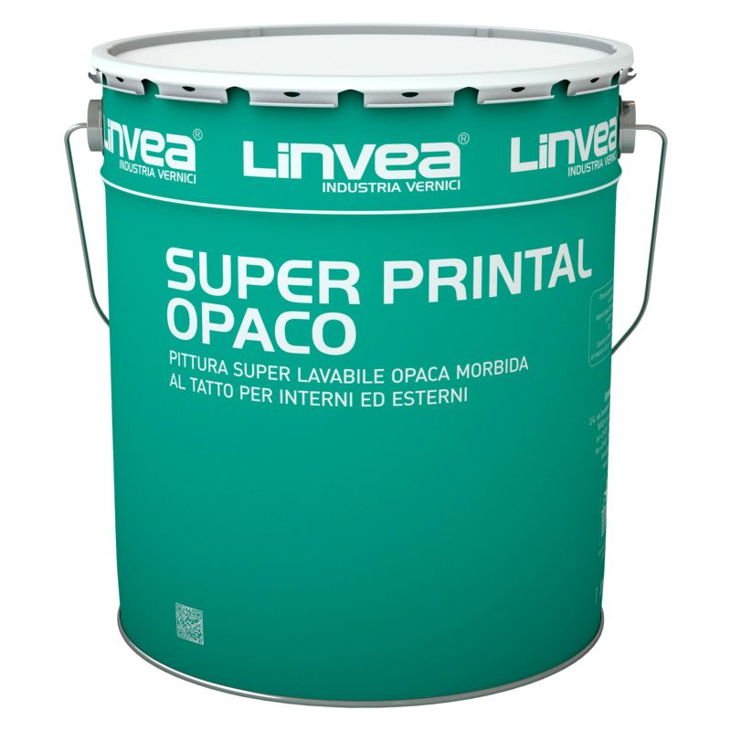 Offerta - Pittura lavabile Super Printal Opaco