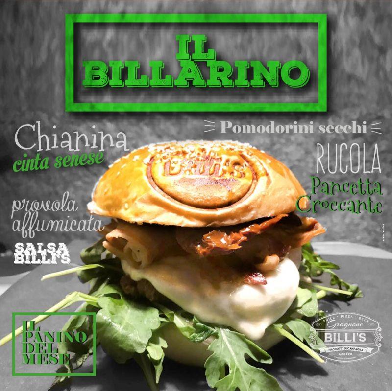 Billi's - panino Arezzo -hamburger Arezzo -billarino