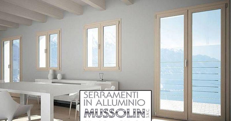 Mussolin Serramenti offerta finestre e porte in alluminio - occasione infissi su misura vicenza