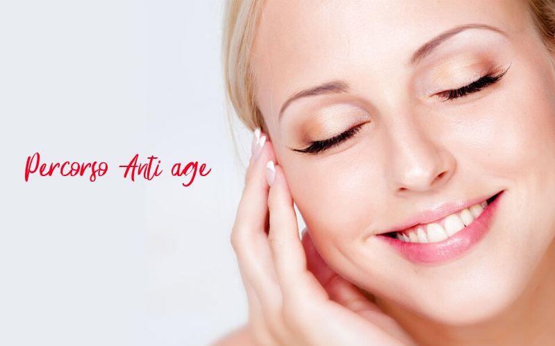 Offerta Percorso anti age viso corpo e decollete - Promozione servizi anti age professionali