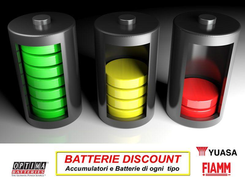 Offerta sostituzione batterie - Promozione batterie auto moto scooter - Batterie Discount