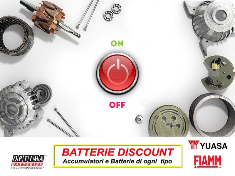 Offerta ricambi motorini avviamento - Promozione alternatori automobili - Batterie Discount