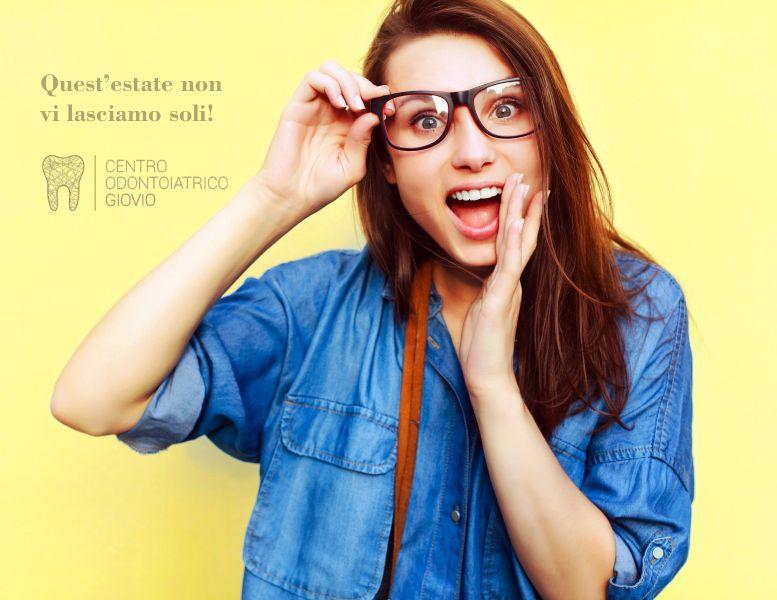 offerta-studio dentistico aperto agosto-promozione urgenze-centro odontoiatrico giovio-como
