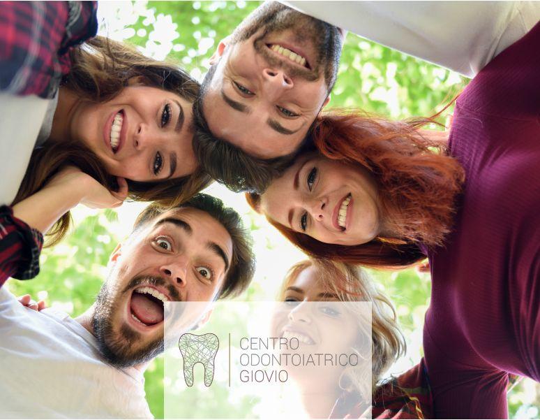 offerta-sbiancamento dentale-promozione bianco naturale-centro odontoiatrico giovio-como