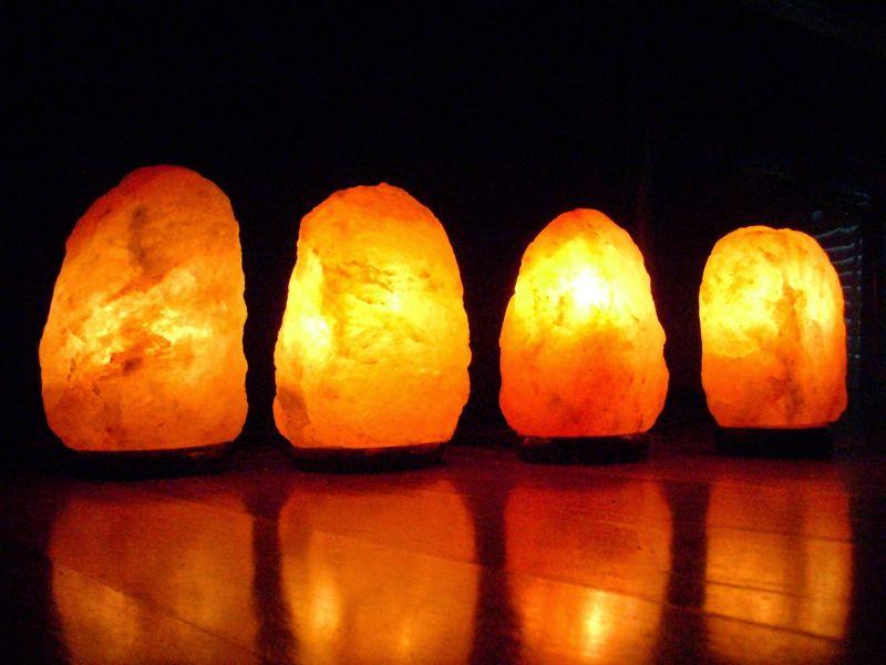 promozione lampade di sale dell'Himalaya - promozione Erbolandia Vicenza