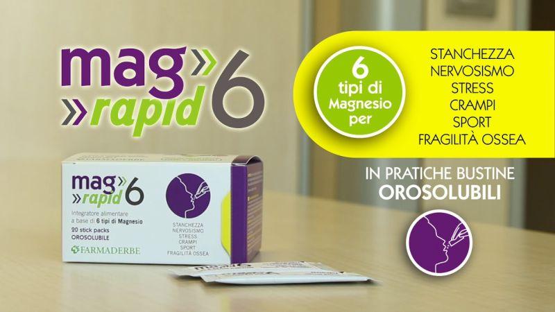 Promozione Mag 6 Rapid - Offerta magnesio orosolubile Erbolandia Vicenza