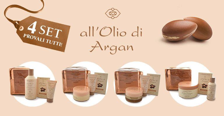 Promozione Pochette Olio di Argan - offerta Argan l'Erbolario Erbolandia Vicenza