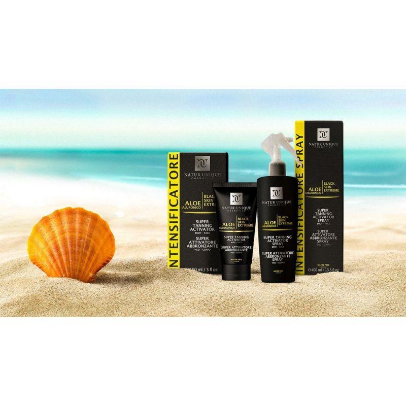 Promozione Intensificatore Natur Unique - Novita' pelle sole abbronzatura Erbolandia
