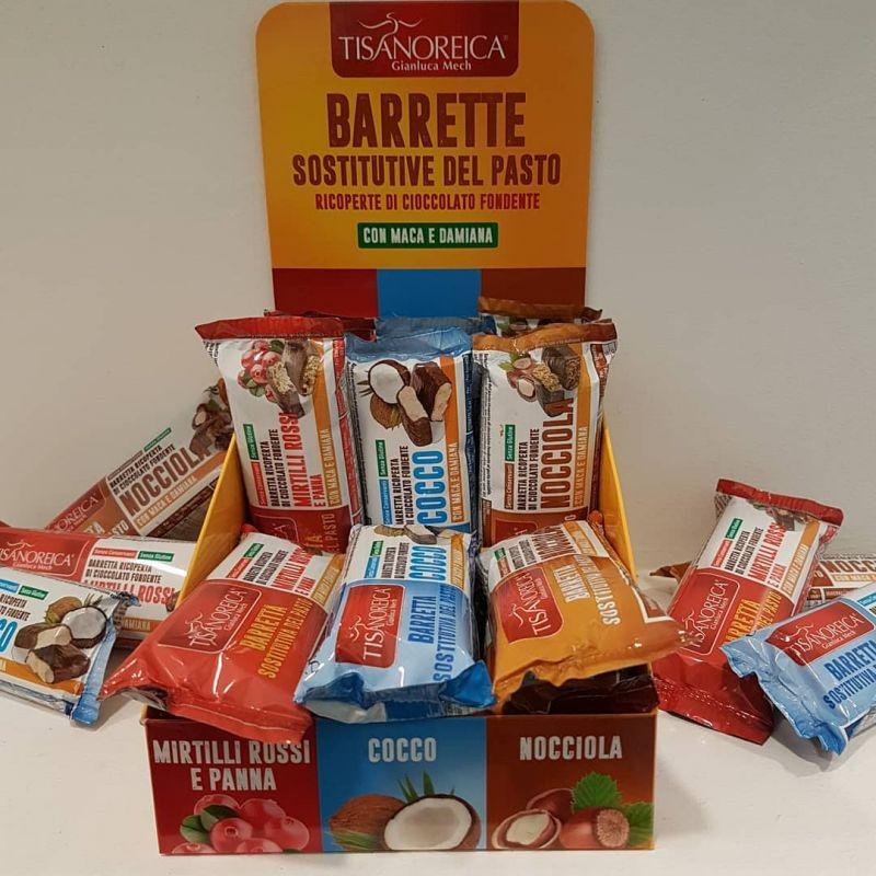 Promozione Barretta Tisanoreica - offerta sostitutiva pasto Erbolandia
