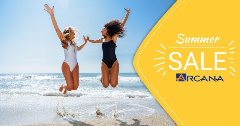 Offerta vendita abbigliamento estivo saldi 7 luglio a Lecce - Arcana Moda